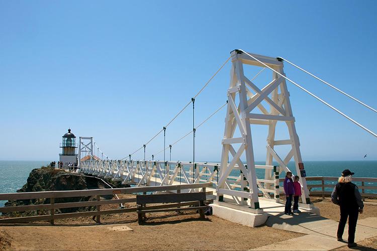 The Point Bonita Lighthouse