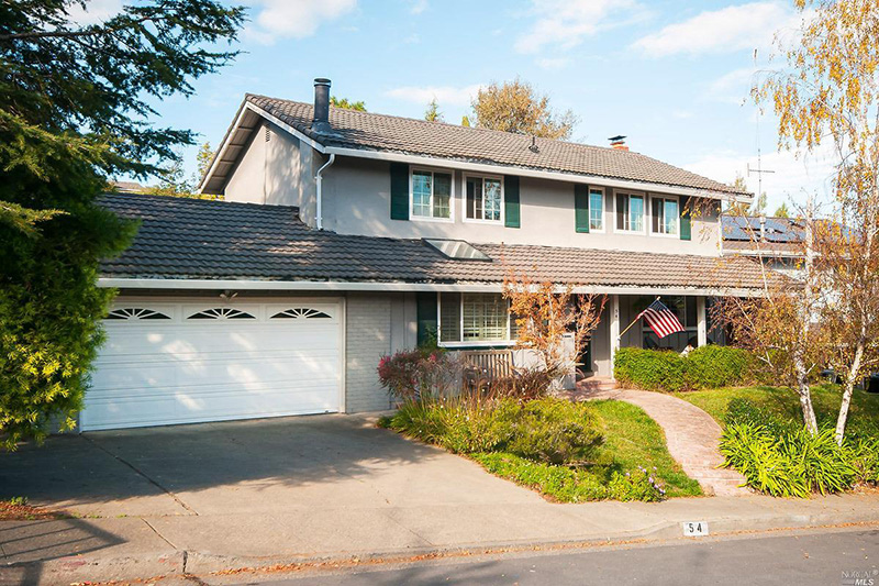 54 Twelveoak Hill Drive, San Rafael, California